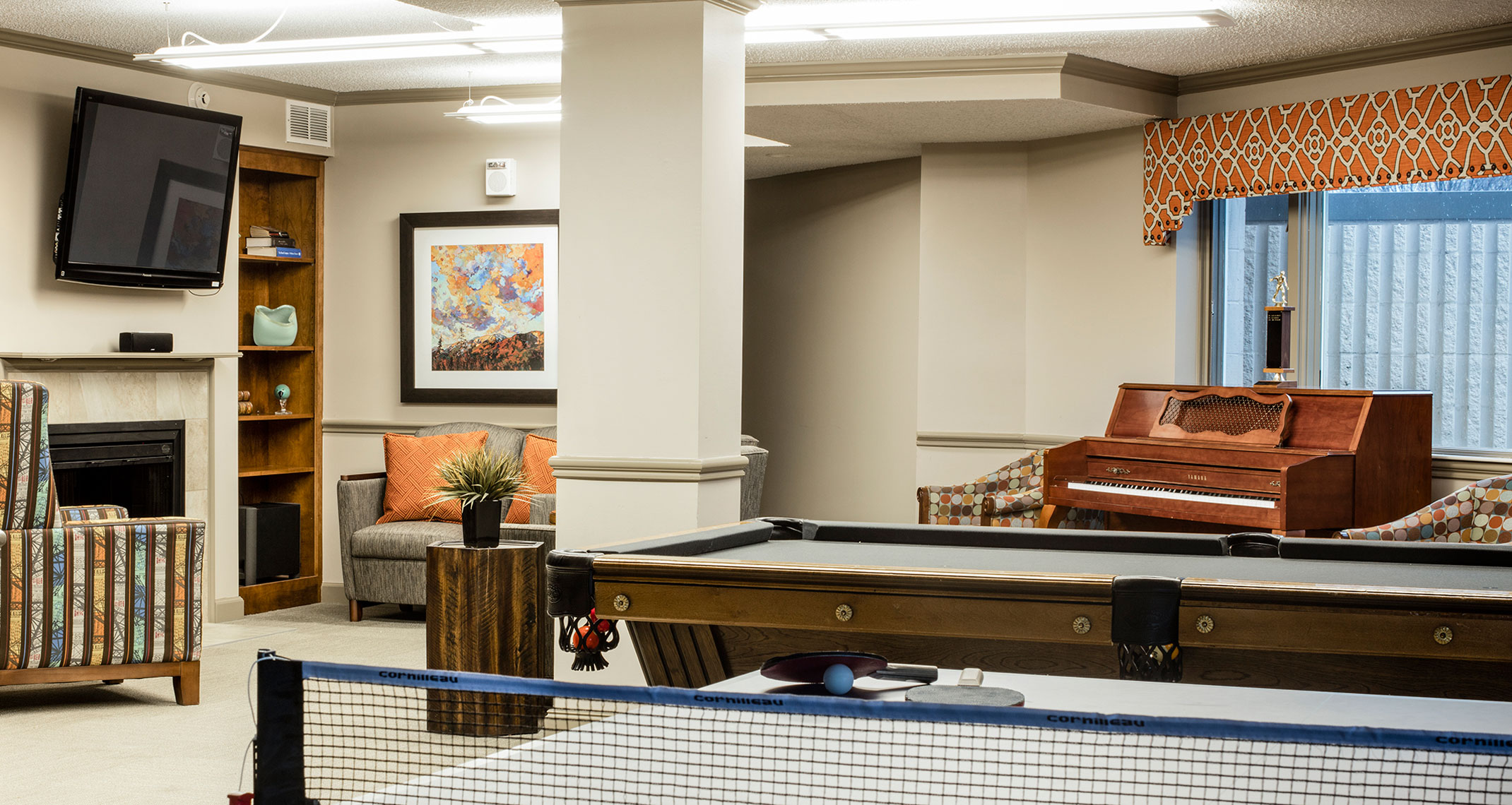 Immanuel Village Recreation Room